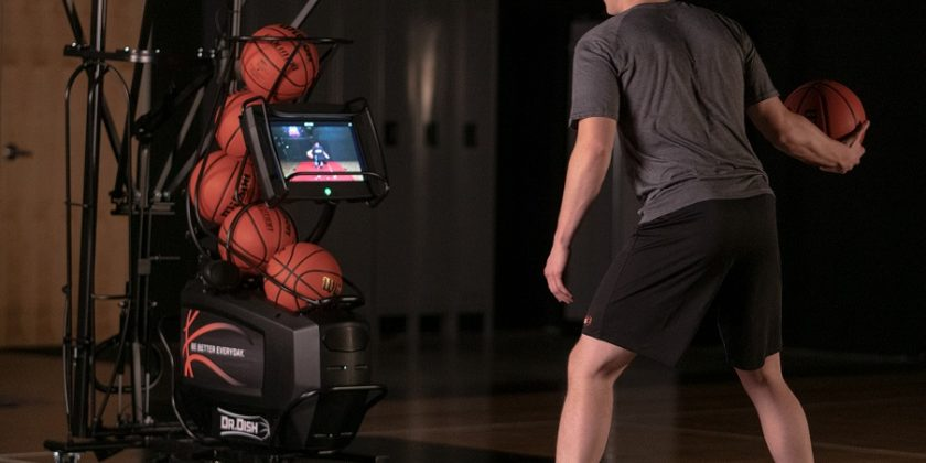 Antrenamente automatizate cu Dr. Dish Basketball