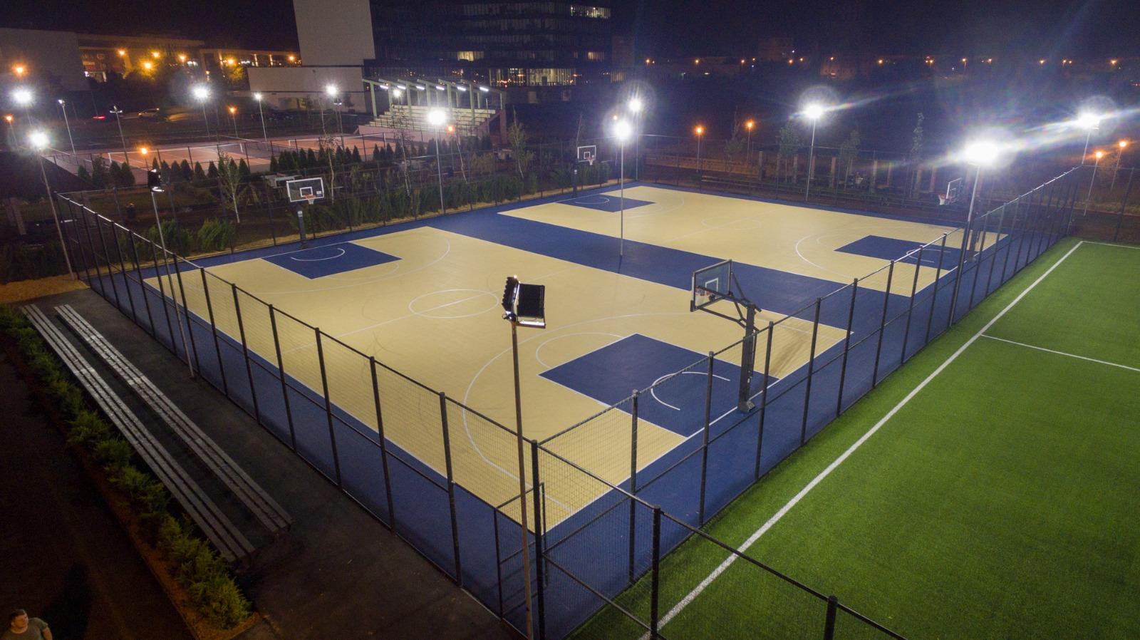 Parcul Sportiv Salca din Oradea, la trei ani de la ianugurare